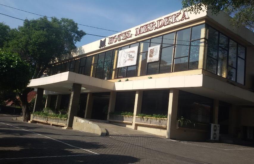 Hotel Merdeka Madiun - Eksterior