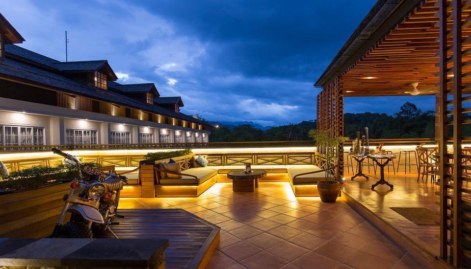 Plataran Heritage Borobudur Hotel Magelang - Langit menoreh Restaurant and bar
