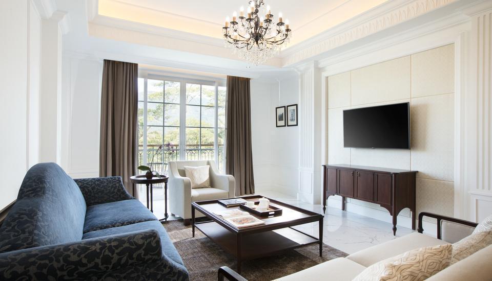 Plataran Heritage Borobudur Hotel Magelang - Ruang keluarga Kamar Suite