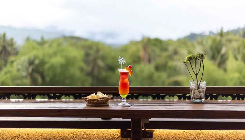 Plataran Heritage Borobudur Hotel Magelang - langit menoreh