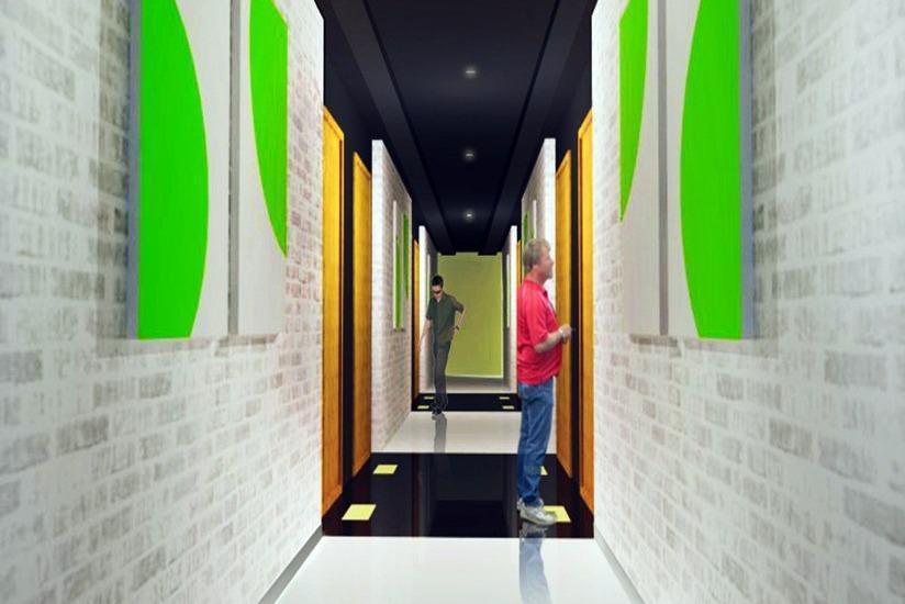 MaxOne Hotel Surabaya - Koridor