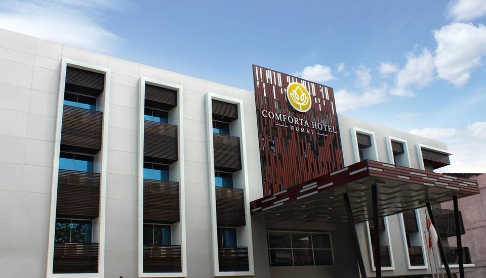 Comfort Hotel Dumai Dumai - Bagian Depan Hotel