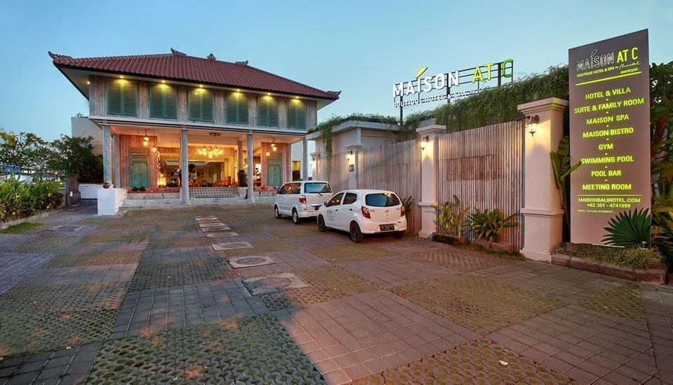 Maison At C Boutique Hotel Bali - Hotel Entrance