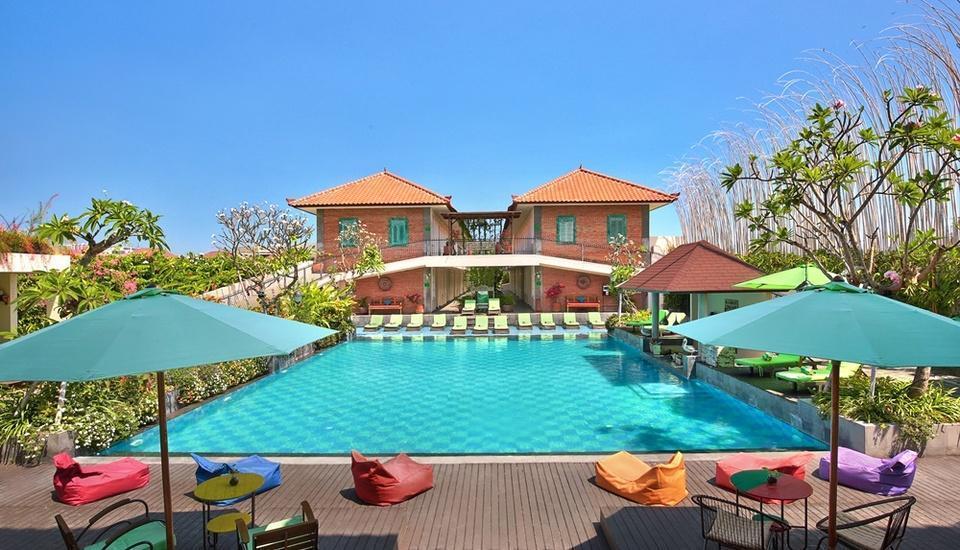 Maison at c boutique hotel bali booking murah mulai for Hip hotels bali