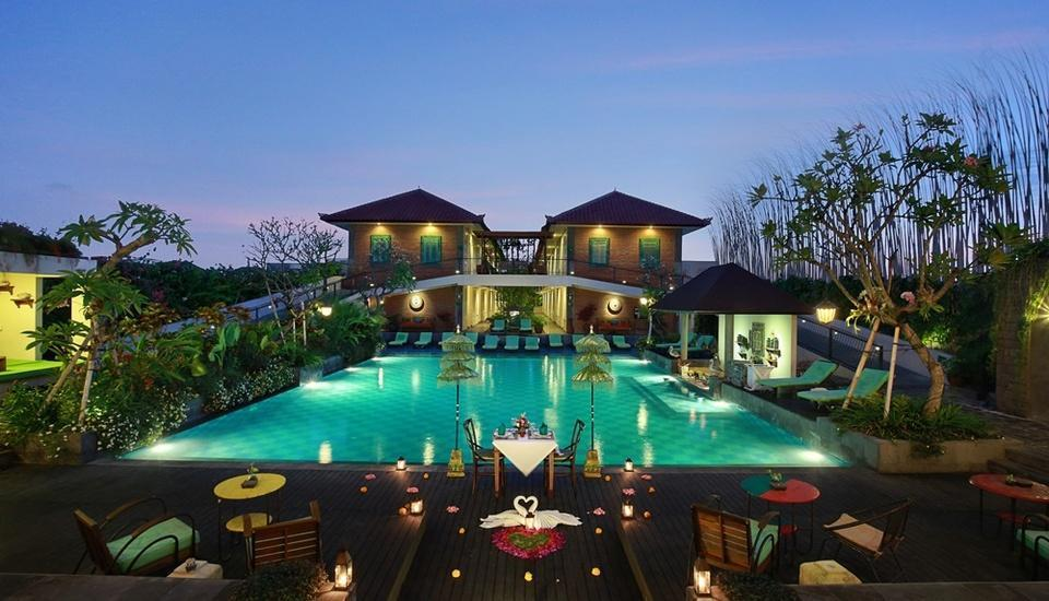 Maison At C Boutique Hotel Bali - Romantic Dinner