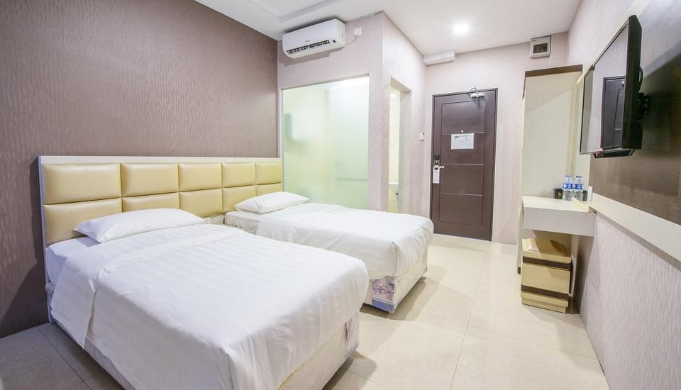 Nasa Hotel Batam - Kamar Deluxe Twin