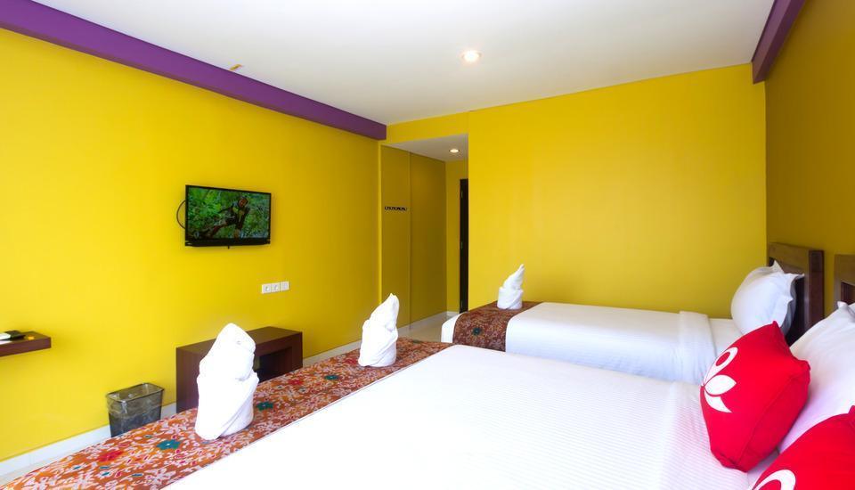 ZenRooms Kuta Puri Demak Bali - Tempat tidur Twin