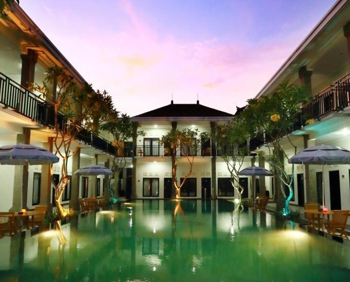 Hotel ASOKA City Home Bali - SWIMMING POOL