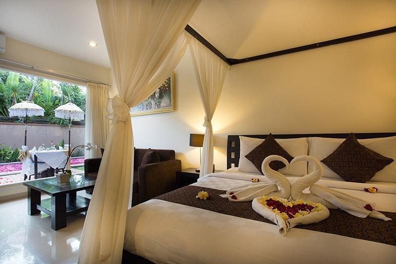Bali Yubi Villa Bali - Kamar tamu