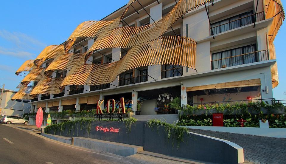 Koa D Surfer Hotel Bali - Jalan Masuk Hotel