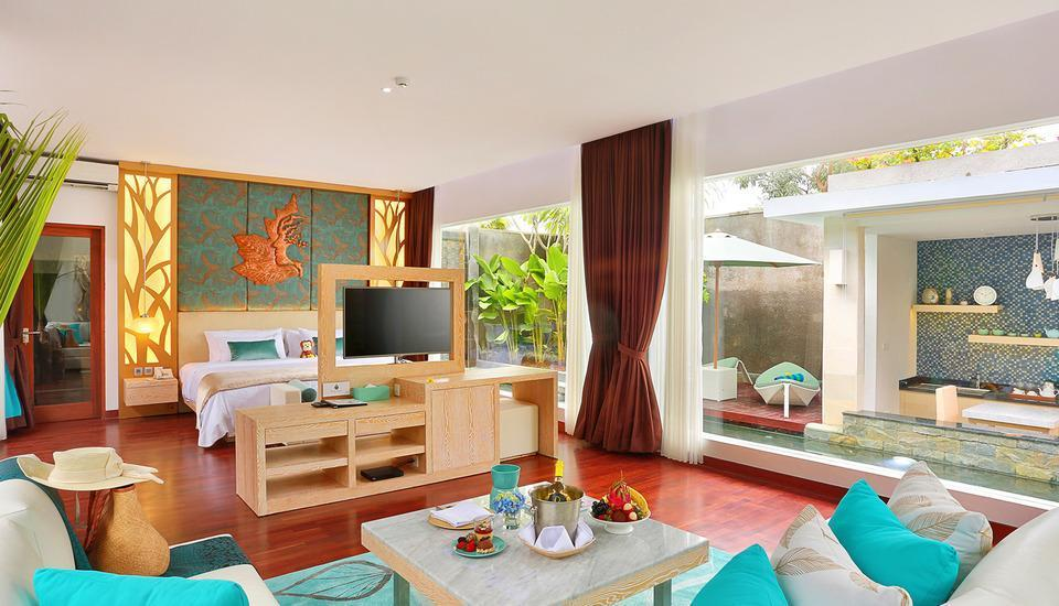 The Leaf Jimbaran - Standalone One Bedroom Pool Villa  72 Hours Sale 52%