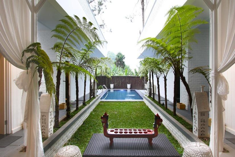 The Peak Home Boutique Hotel Bandung - Kolam Renang