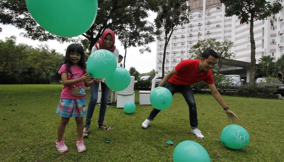 Hotel Syariah Solo - garden