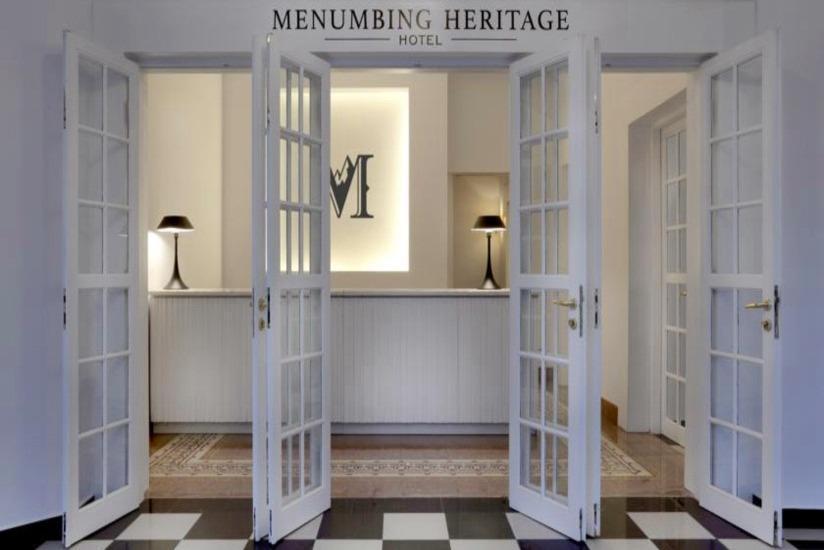 Menumbing  Heritage Hotel Pangkalpinang - Pintu masuk