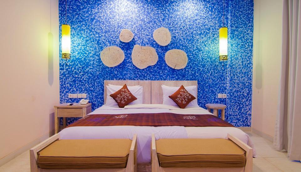 Natya Hotel Gili Trawangan Lombok - Deluxe Room Stay 3 Night 35% OFF