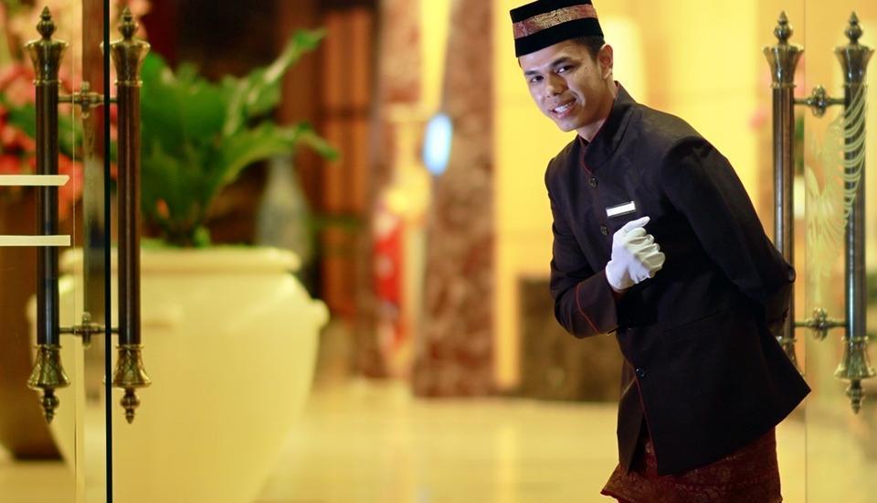 Rocky Plaza Hotel Padang - Welcome Greetings