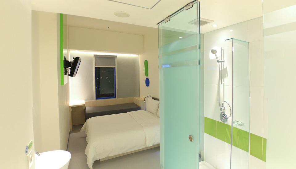 POP! Hotel Bandung Festival CityLink - kamar tidur