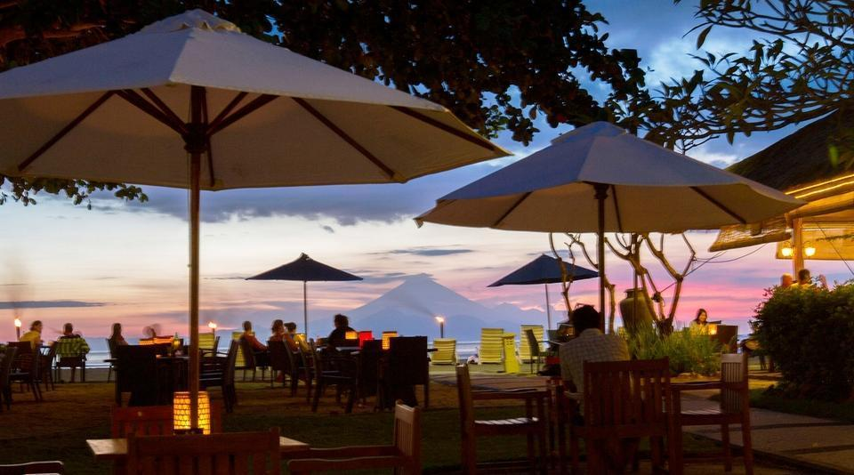 Kila Senggigi Beach Hotel Lombok - Restoran Italia di Basilico