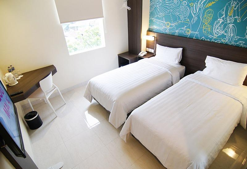Meize Hotel Bandung - Deluxe Twin