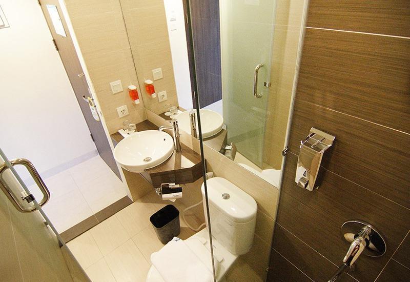 Meize Hotel Bandung - Kamar Mandi Deluxe