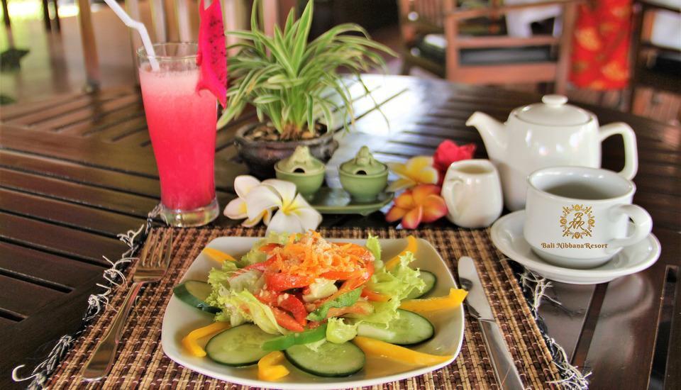 Nibbana Bali Resort Bali - sarapan 5