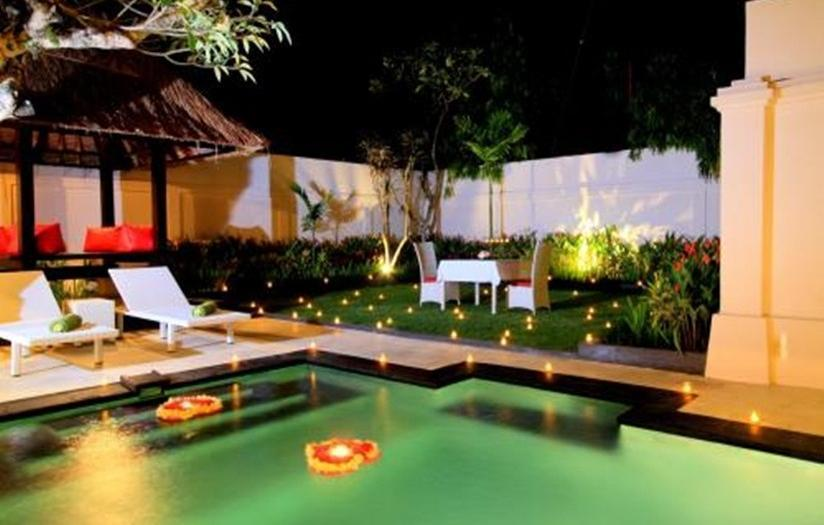 The Tukad Villa Bali - Candle Light dinner