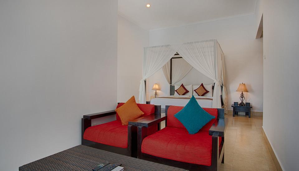 The Tukad Villa Bali - Living Area