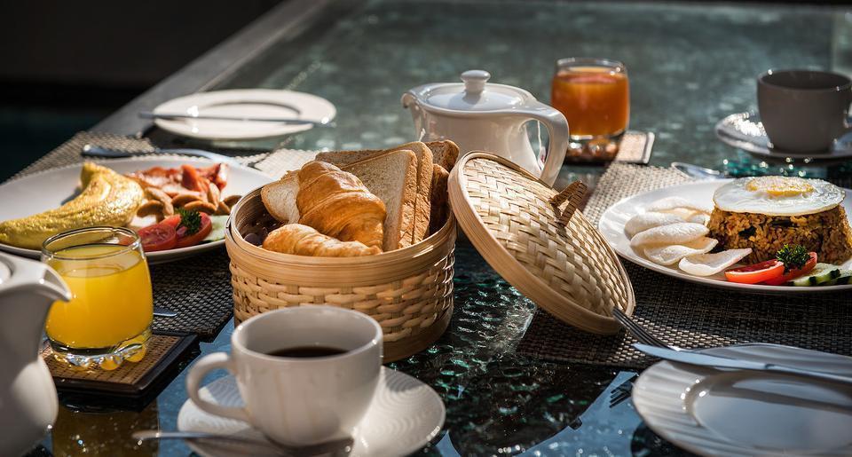The Tukad Villa Bali - breakfast