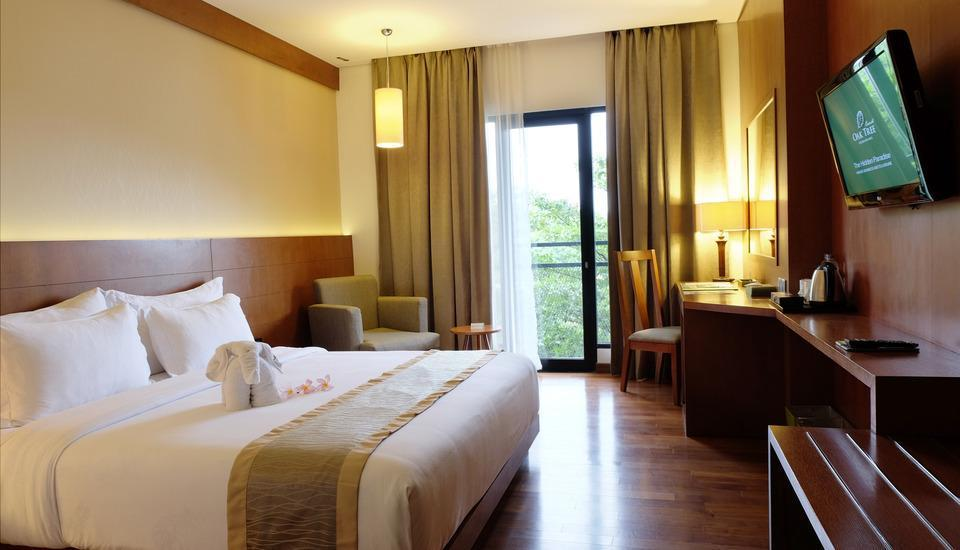 Oak Tree Emerald Semarang - Deluxe Queen Room Only RAMADHAN PEGIPEGI PROMOTION