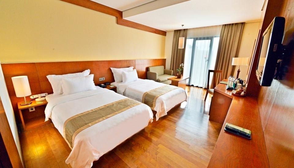Oak Tree Emerald Semarang - Deluxe Twin Room Only RAMADHAN PEGIPEGI PROMOTION
