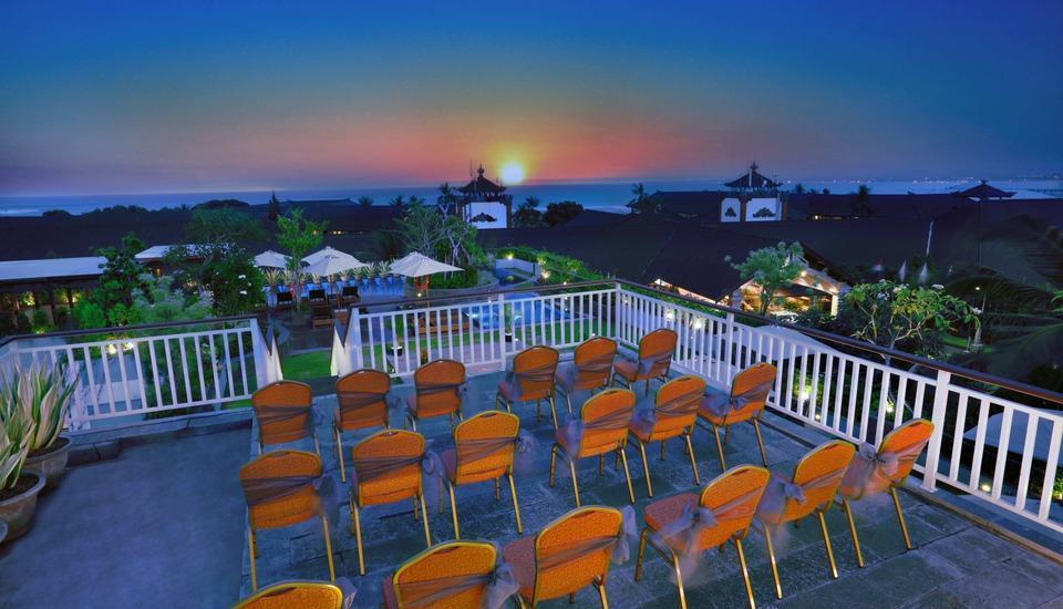 favehotel Kuta Kartika Plaza - favehotel Kartika ROOF TOP BEACH VIEW