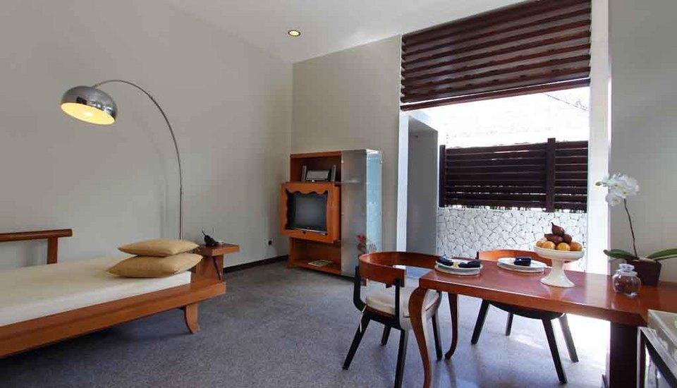 The Bali Khama Bali - Living Room Romantic Pool Villa