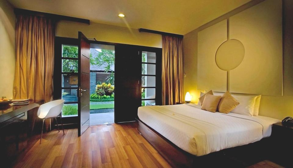 The Bali Khama Bali - Deluxe Garden (Double atau Twin) Special Promo 32% OFF
