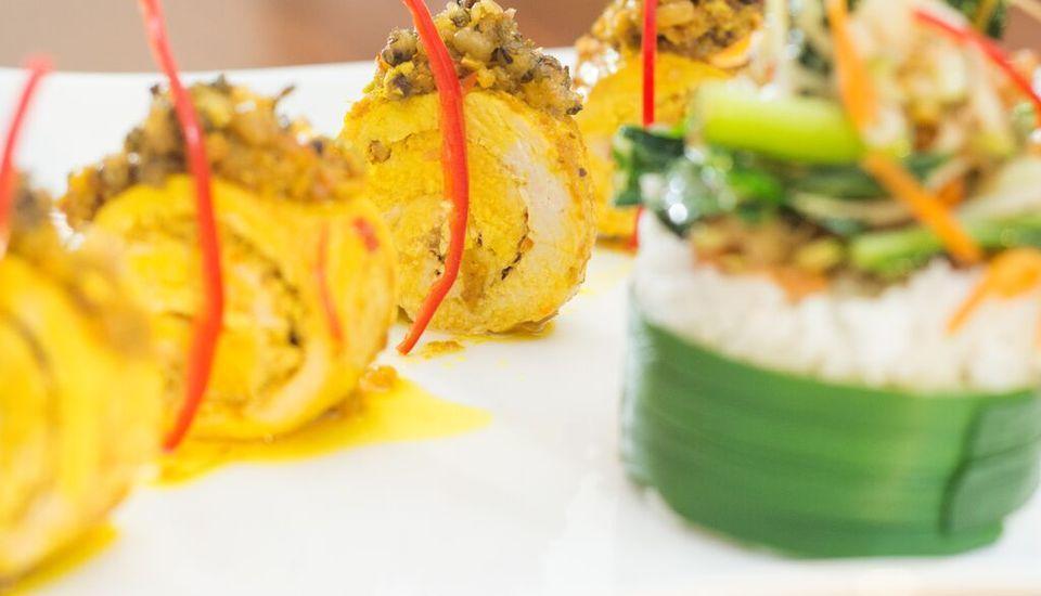 Savvoya Seminyak Hotel Bali - Hidangan utama