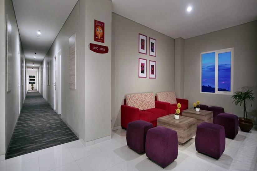 fave hotel Lombok - Koridor