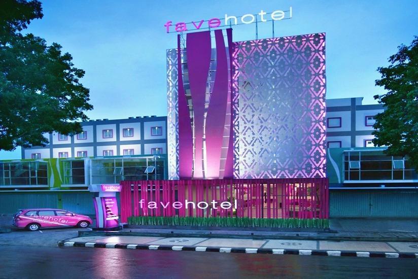 fave hotel Lombok - Tampilan Luar Hotel