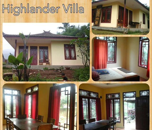 Resort Highlander Bogor - Villa Danau