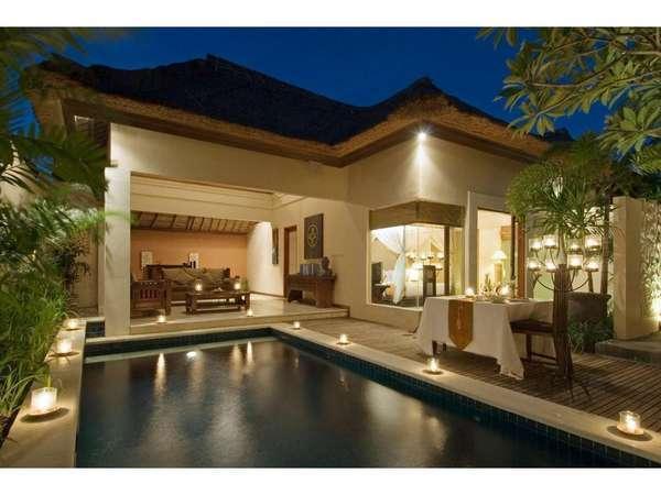 Bhavana Private Villas Bali - Bhavana satu kamar dengan Kolam Renang
