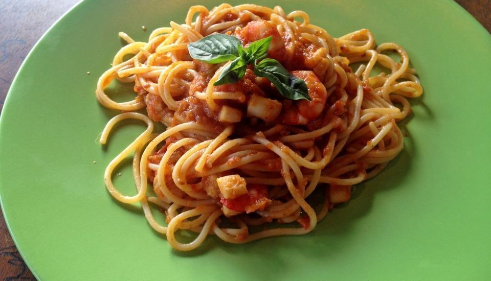 Jepun Bali Homestay Bali - Spaghetti Buatan sendiri