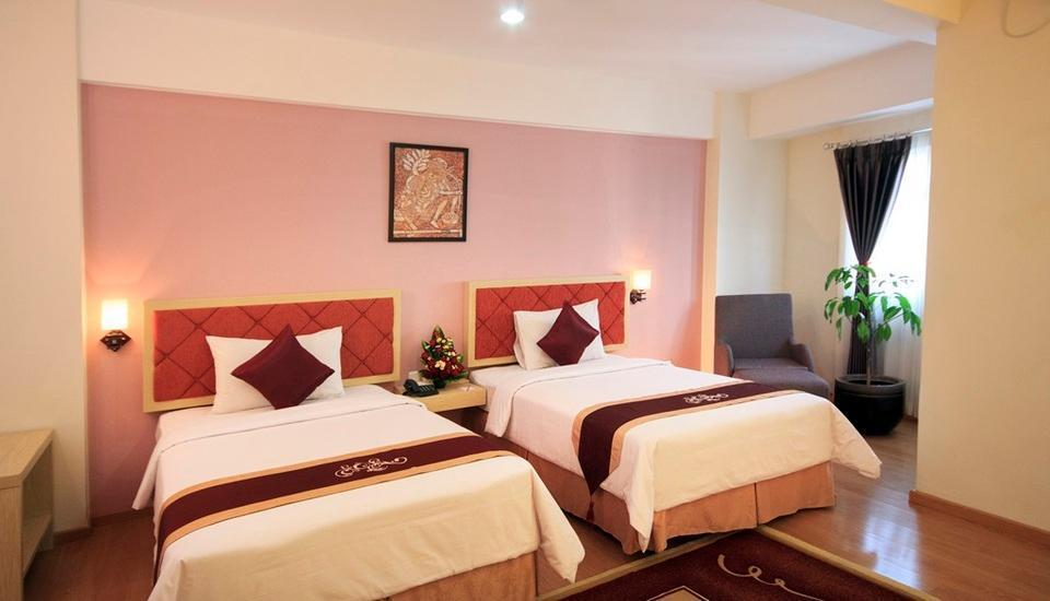 Gunawangsa Manyar Hotel Surabaya - Deluxe Business Twin Room Only Regular Plan