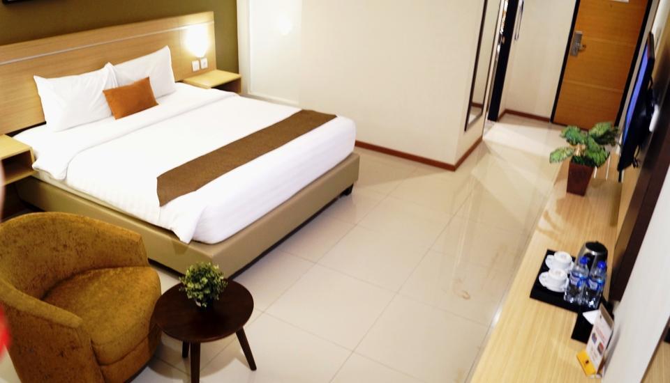 de Laxston Hotel  Yogyakarta - EKSEKUTIF TEMPAT TIDUR KING