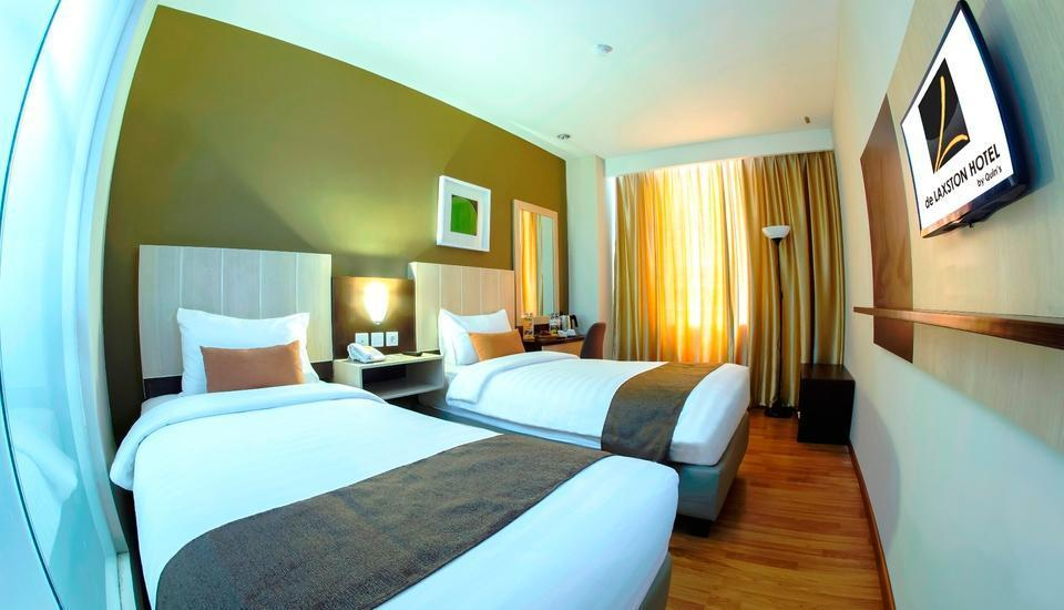 de Laxston Hotel  Yogyakarta - Superior Twin Room With Breakfast Regular Plan
