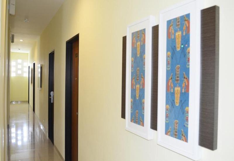 M Hotel Lombok - Koridor