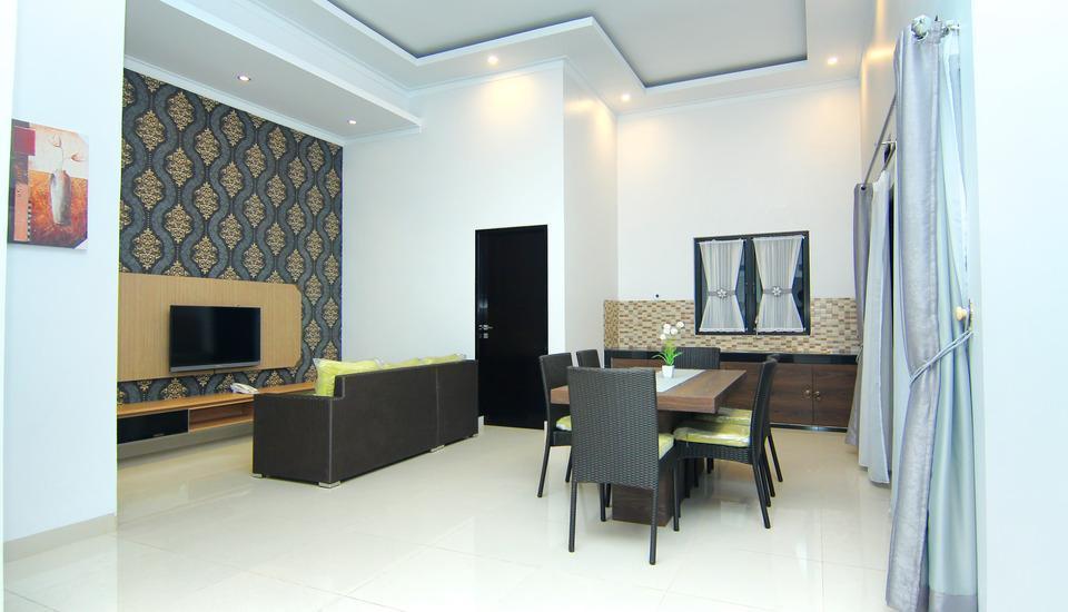 The Baliview Luxury Hotel & Resto Pekanbaru Pekanbaru - ruang tamu