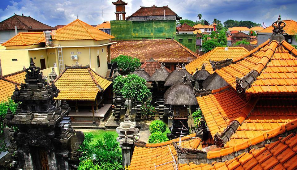 Bemo Corner Guest House Bali - Pemandangan Sekitar