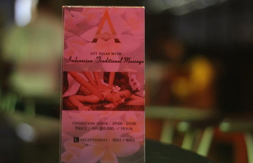 Antoni Hotel Jakarta - pijat tradisional panggilan