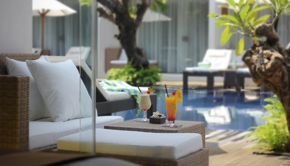 The Bene Hotel Bali - View from the Pool Access Room