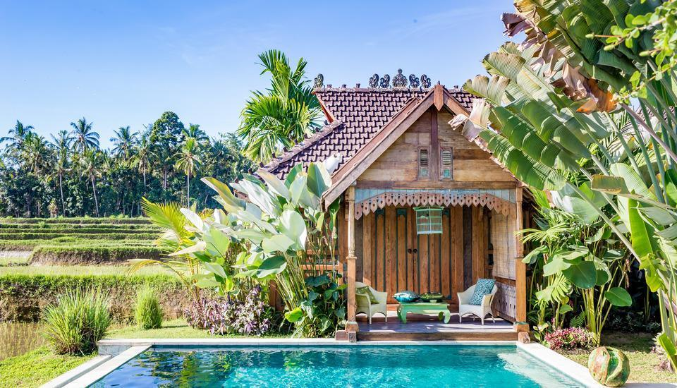 Hati Padi Cottages Bali - Bungalow (green)