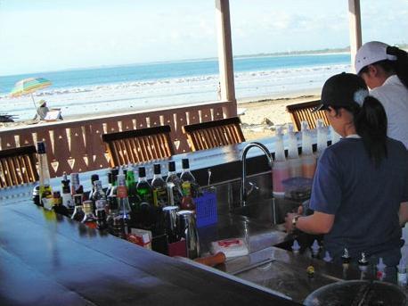 Bali Garden Beach Resort Bali - Bar Pantai