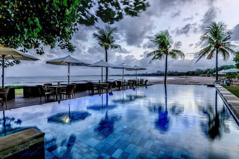 Bali Garden Beach Resort Bali - Pantai Kolam Renang